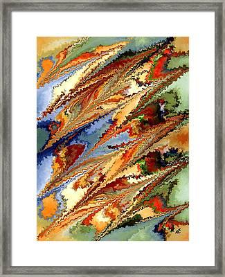 Dolphins Framed Print by Rafi Talby
