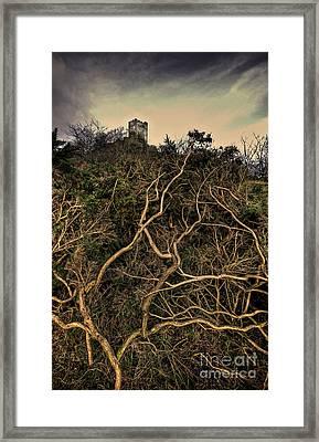 Dolwyddelan Castle Framed Print by Meirion Matthias
