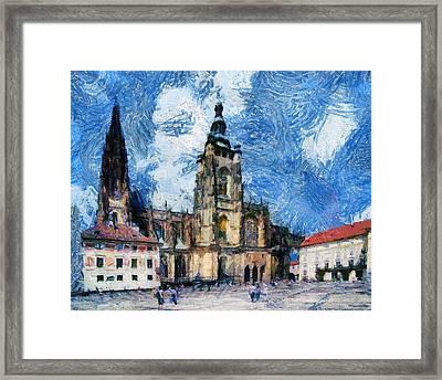 Dom Square Framed Print