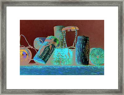 Domain Chandon Framed Print by Randy Ford
