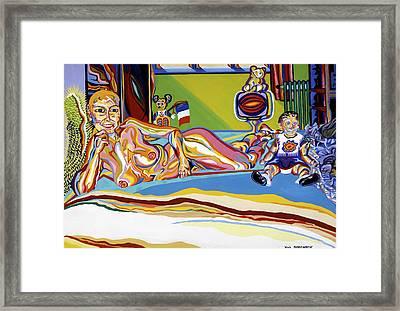 Domaine De Dominique Framed Print
