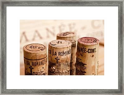 Domaine De La Romanee-conti Framed Print