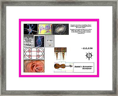 Domestic Violins Framed Print