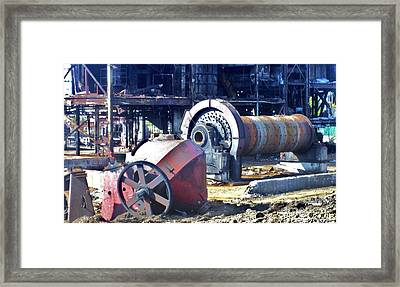 Domfer Deconstruction 2 Framed Print by Reb Frost