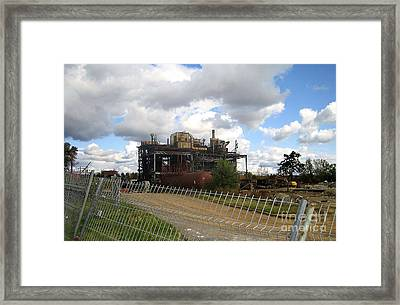 Domfer Deconstruction Framed Print by Reb Frost