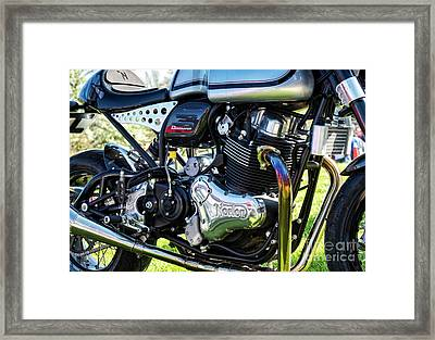 Framed Print featuring the photograph Dominator Style by Tim Gainey