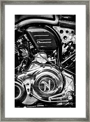 Framed Print featuring the photograph Dominator by Tim Gainey
