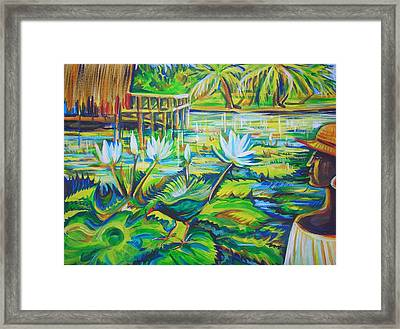 Framed Print featuring the painting Dominicana by Anna  Duyunova
