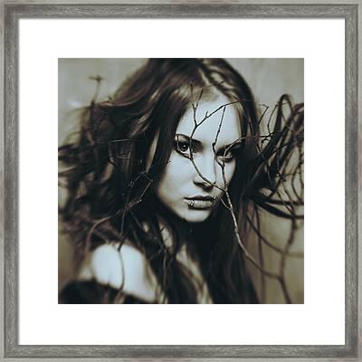 Dominika Framed Print by Art of Invi