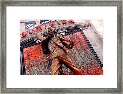 Dominion Queen Framed Print by Jez C Self