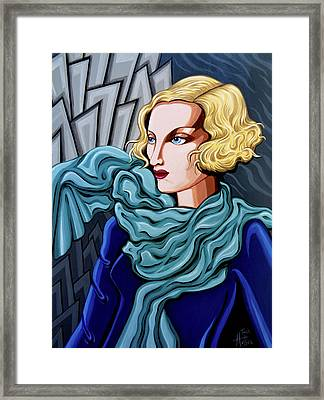 Dominique Framed Print