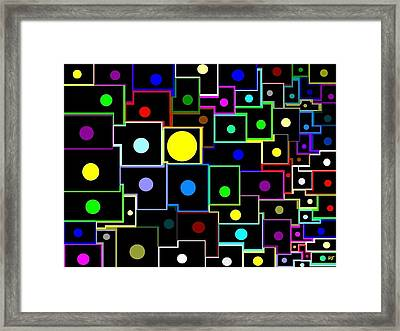 Domino Effect  Framed Print by Will Borden