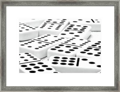 Dominoes I Framed Print by Tom Mc Nemar