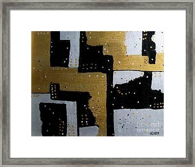 Dominos Framed Print by Marsha Heiken