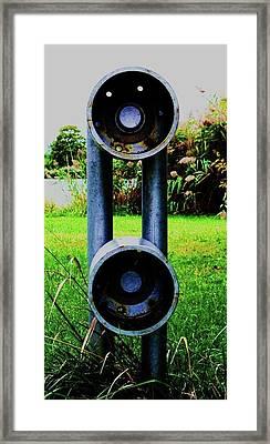 Framed Print featuring the photograph Dommer by Cyryn Fyrcyd