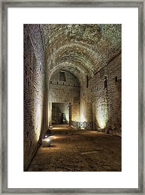 Domus Aurea Antechamber Framed Print