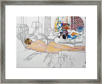 Don Abed Framed Print by Stan  Magnan