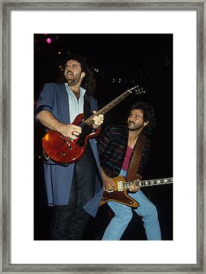 Don Barnes And Jeff Carlisi Of 38 Special Framed Print