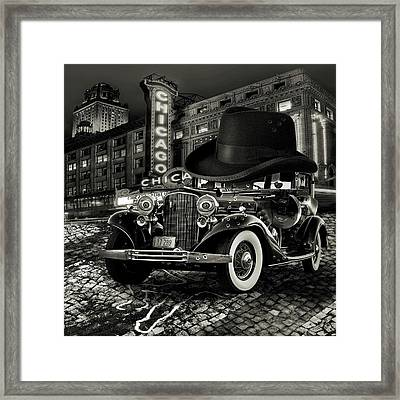 Don Cadillacchio Black And White Framed Print by Marian Voicu