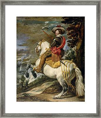 Don Gaspar De Guzman, Count-duke Of Olivares Framed Print