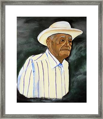 Don Panchito Framed Print by Luis F Rodriguez