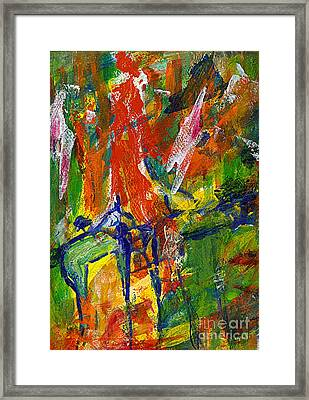 Don Quichotte Framed Print by Jan Daniels