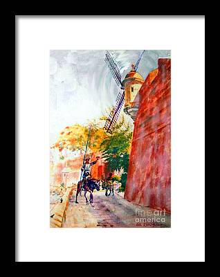 Pintura Framed Prints