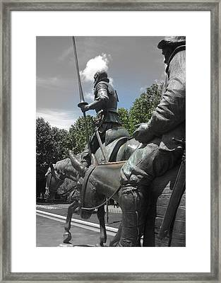 Don Quixote Framed Print by JAMART Photography