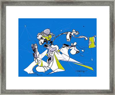 Don Quixote  Framed Print by Tome Caupers