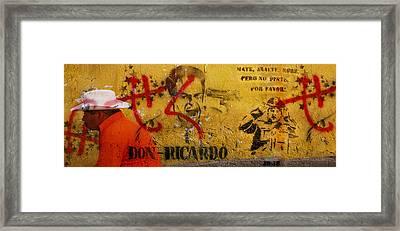 Don-ricardo Framed Print by Skip Hunt