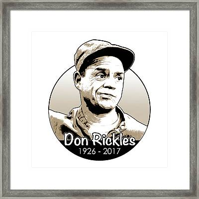 Don Rickles Framed Print