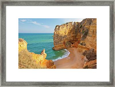 Dona Ana Beach Framed Print by Monica and Michael Sweet