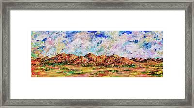Dona Anas Framed Print