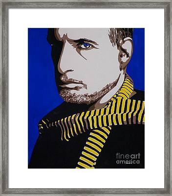 Donald Fagan Framed Print