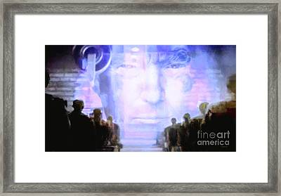 Framed Print featuring the photograph Donald Trump 1984 by Wingsdomain Art and Photography