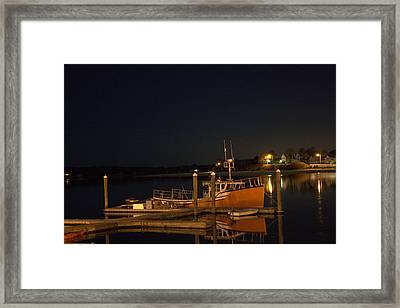 Framed Print featuring the photograph Done Fishing by Greg DeBeck