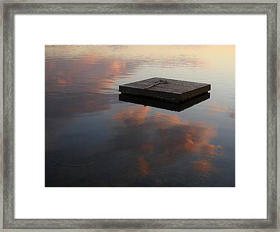 Done Fishing Framed Print