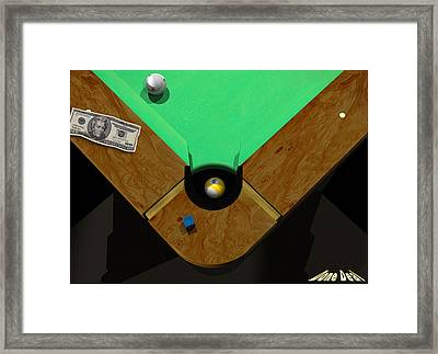 Donedeal Framed Print by Draw Shots