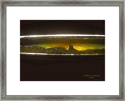 Donee Pilot Mountain North Carolina Usa  Framed Print by Phillip H George