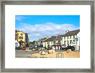 Donegal Town Framed Print