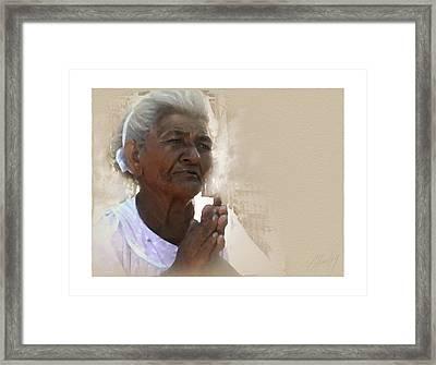 Donita Framed Print by Cliff Hawley