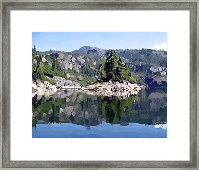 Donnell Island Framed Print