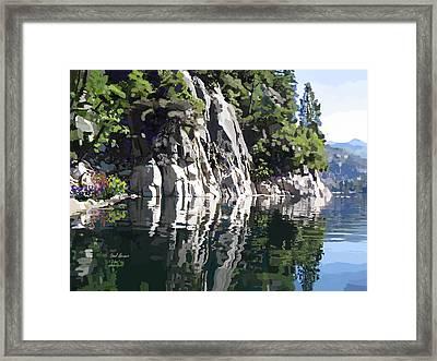 Donnell Lake Framed Print