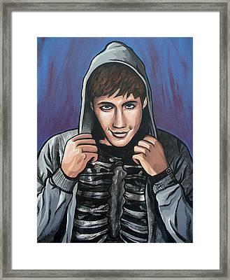 Donnie Framed Print by Sarah Crumpler