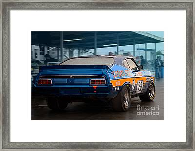 Donovan Ford Framed Print by Stuart Row
