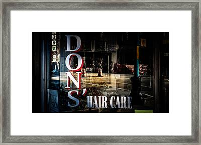 Don's Reflections  Framed Print by Phillip Burrow