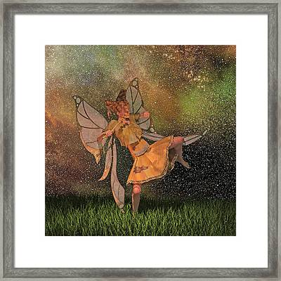 Don't Be A Menace  Framed Print by Betsy Knapp