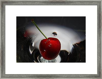 Don't Burst My Bubble Framed Print