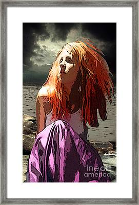 Don't Call Her Red  Framed Print