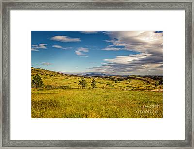 Don't Fence Me In Framed Print by Jon Burch Photography